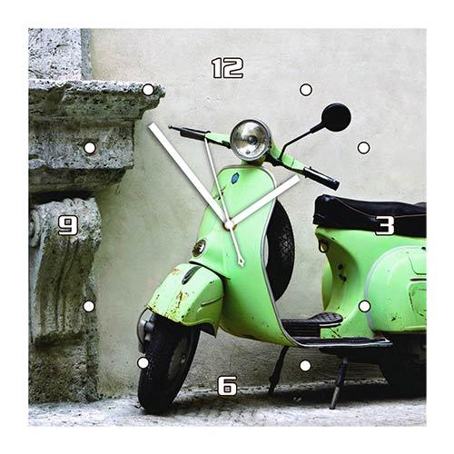 Zegar Ścienny Obraz - Scooter