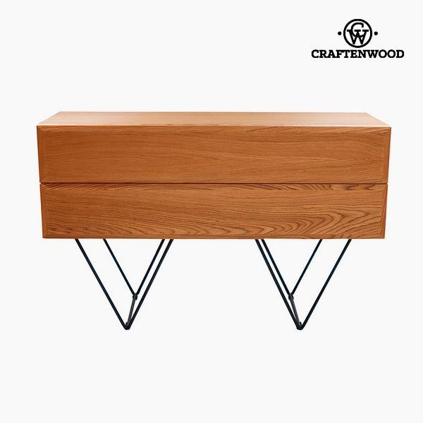 Příborník Dřevo Mdf Vlašský ořech (120 x 40 x 76 cm) - Modern Kolekce by Craftenwood