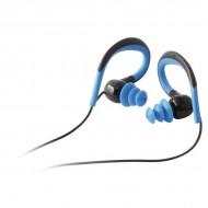 Słuchawki Sportowe z Mikrofonem Czarny Niebieski