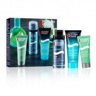 Souprava spánskou kosmetikou Homme Aquapower Biotherm (3 pcs)
