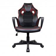Gamer Szék Tacens MGC0BR Fém PVC Fekete Piros