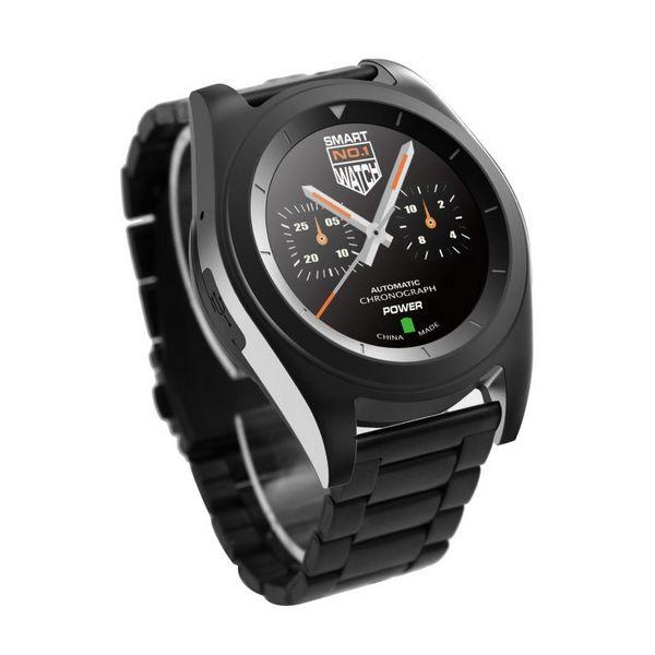 Zegarek z Pulsometrem BRIGMTON BWATCH-BT6N 1.2'' HD 64 MB RAM 128 MB ROM Micro USB 250 mAh Czarny