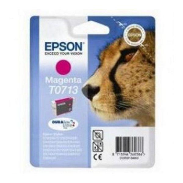 Originální inkoustové náplně Epson C13T071340 Purpurová