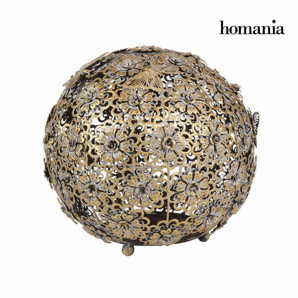 Gold flower a butterfly ball  - Art & Metal Kolekce by Homania