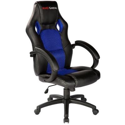 Fotel dla Graczy Tacens MGC1BBL PU Czarny Niebieski