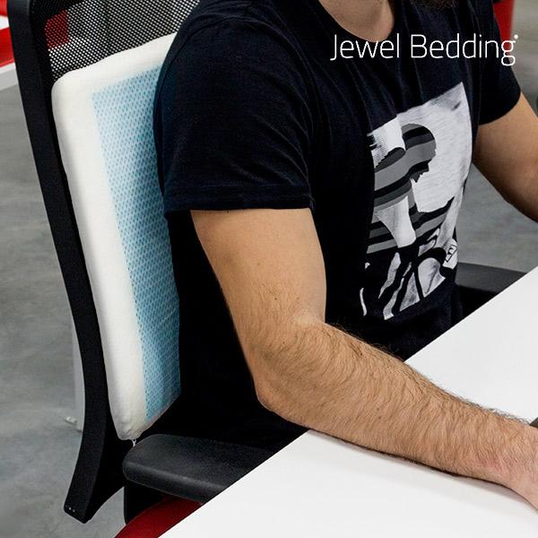 Viskoelastický Polštář s Gelovou Vrstvou Jewel Bedding
