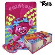 Pudełko metalowe z akcesoriami Trolls 9712 3 pcs (rozmiar 28-29)