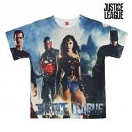 Koszulka z krótkim rękawem dla dzieci Justice League 2177 (rozmiar 12 lat)