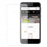 Puzdro na mobil Htc Flex Ultrafina Transparentná