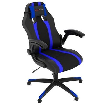 Fotel dla Graczy Tacens MGC2BBL PU Czarny Niebieski