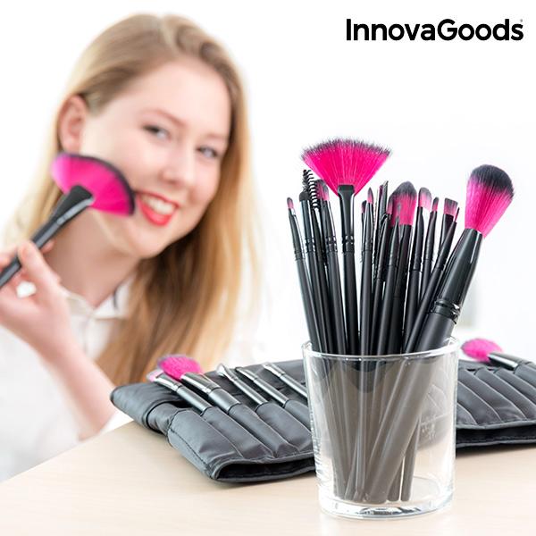 Set 24 Kosmetických Štětců InnovaGoods