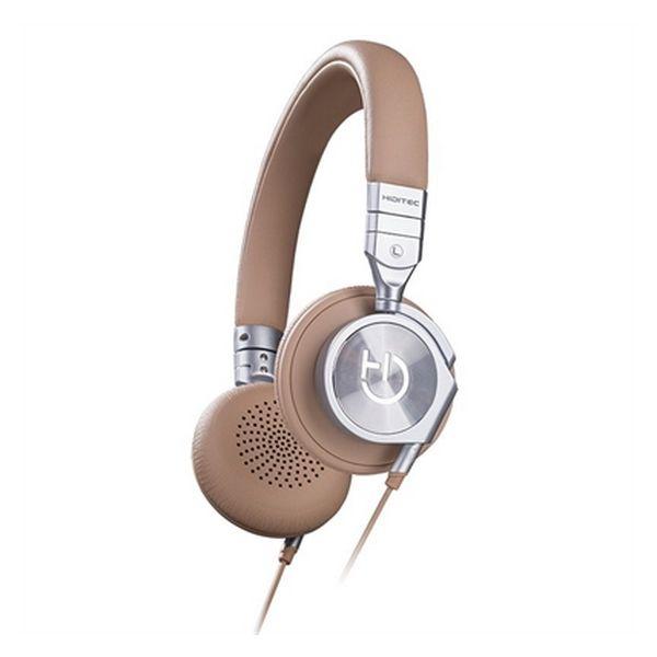 Słuchawki z Mikrofonem Hiditec WHP010001 Wielbłądzi