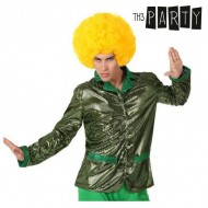 Adult-sized Jacket Th3 Party Disco Jasność Kolor zielony - M/L