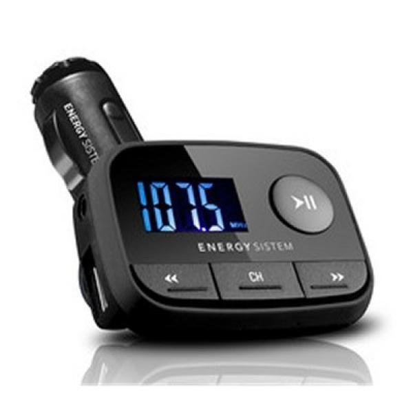 Odtwarzacz MP3 do Samochodu Energy Sistem 384600 FM LCD SD / SD-HC (32 GB) USB Czarny