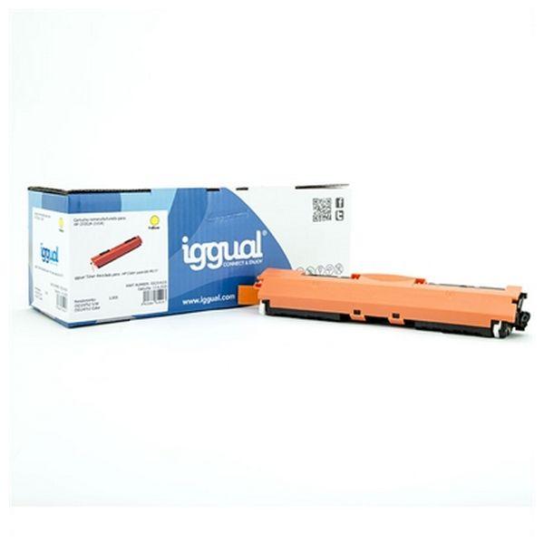 Toner z Recyklingu iggual IGG314203 HP 130X CF352X Żółty