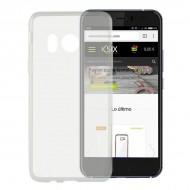 Puzdro na mobil Htc U11 Flex Ultrafina Transparentná