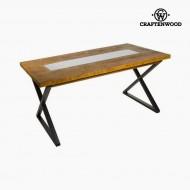 Masă de Sufragerie Brad Mdf (160 x 72 x 70 cm) by Craftenwood