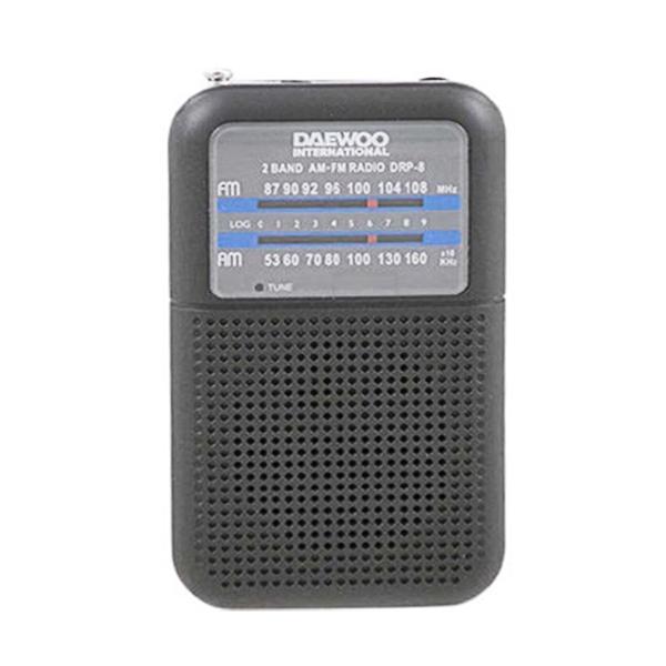 Přenosné rádio Daewoo DRP-8B Černý