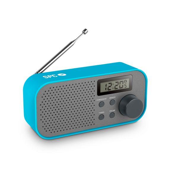 Přenosné rádio SPC Frosty 4570A FM/AM LCD Modrý Šedý