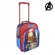 Plecak szkolny 3D z kółkami The Avengers 8249