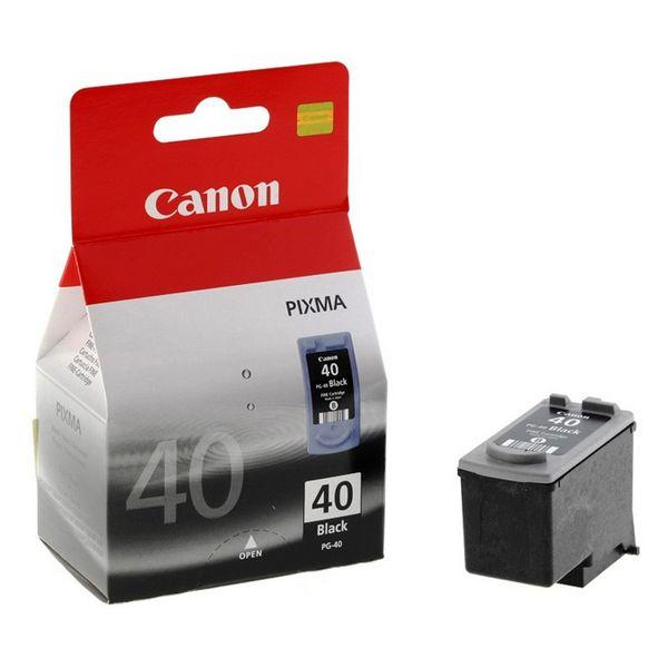 Originální inkoustové náplně Canon PG-40 Černý