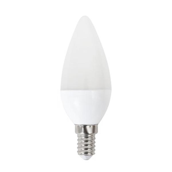 LED Žárovka Svíčka Omega E14 5W 400 lm 2800 K Teplé světlo