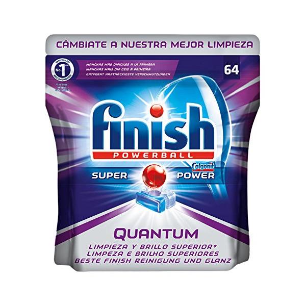 Tabletki do Zmywarek Finish Quantum (64 szt)