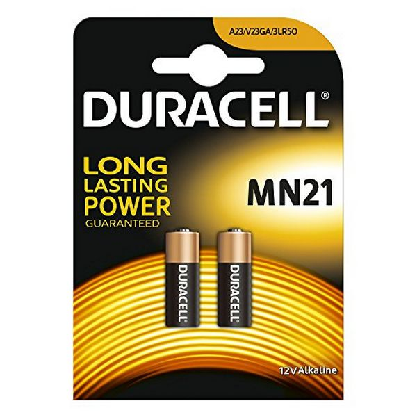 Baterie Alkaliczne DURACELL Security DRB212 MN21 12V 1.5W (2 pcs)