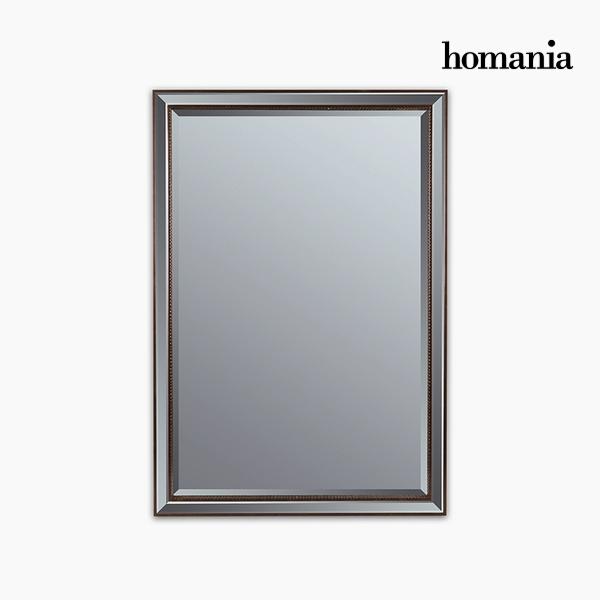 Zrcadlo Syntetická pryskyřice Šikmo broušené sklo Bronz (70 x 4 x 100 cm) by Homania