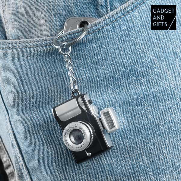 Přívěsek Fotoaparát s LED a Zvuky Gadget and Gifts