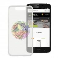Puzdro na mobil Zte Blade V8 Flex TPU Transparentná Mandala