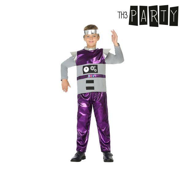 Kostým pro děti Th3 Party Robot - 5–6 roků