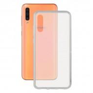 Puzdro na mobil Galaxy A50 Flex Transparentná