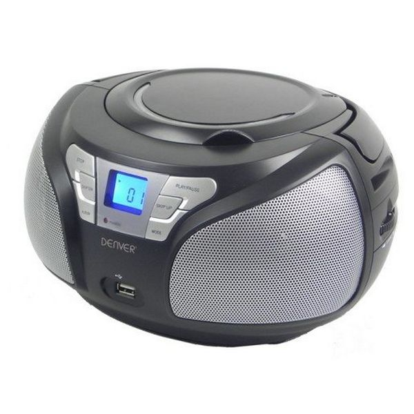Rádio s CD Denver Electronics TCU-206BL Černý