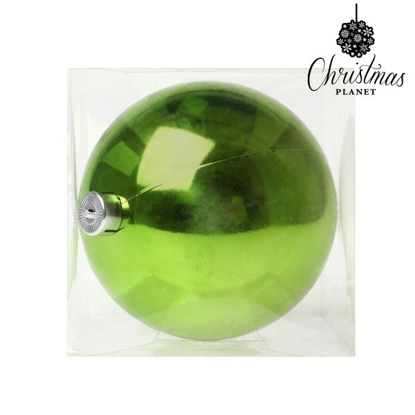 Vánoční koule Christmas Planet 5221 15 cm Plastické Zelená