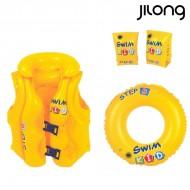 Sada pro učení plavání Jilong JL046095-1NPF -P22 (3 pcs) Žlutý