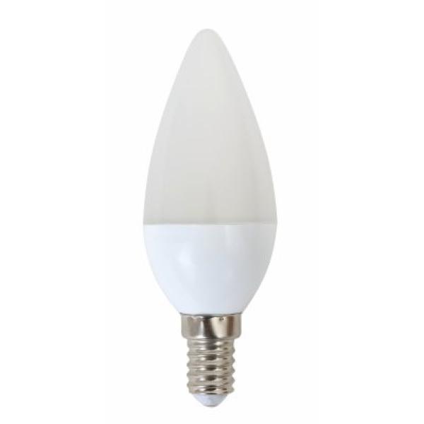 LED Žárovka Svíčka Omega E14 5W 400 lm 4200 K Přirozené světlo