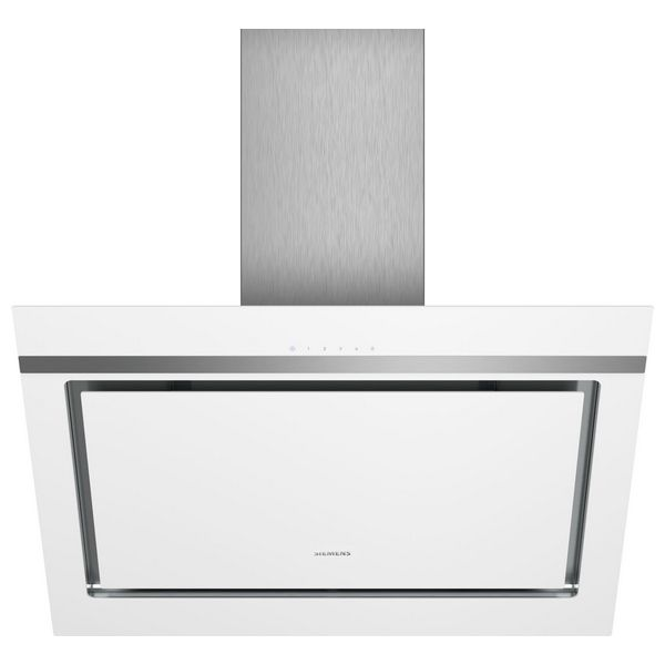 Konvenční digestoř Siemens AG 670 m3/h 80cm LED touchControl Bílý Sklo
