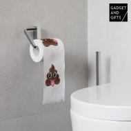 Toaletní Papír Smajlík Hovínko Gadget and Gifts