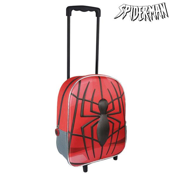 Školní taška na kolečkách 3D Spiderman 8010