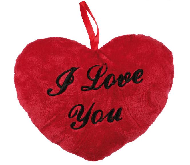 Pluszowe Serce I Love You 18 cm
