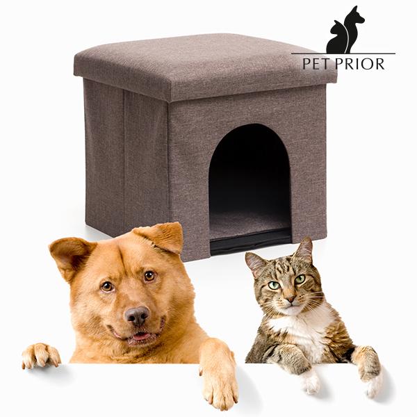 Składany Domek z Siedziskiem dla Zwierząt Pet Prior