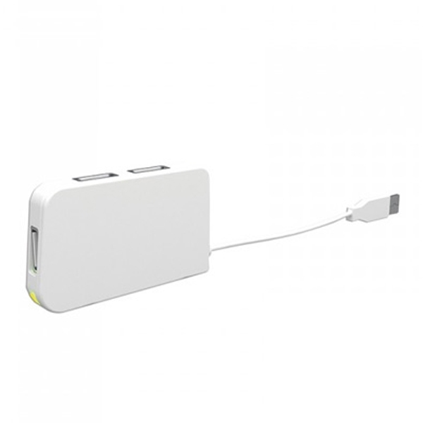 USB Hub 4 Porty approx! APPHT4W USB 2.0 Bílý