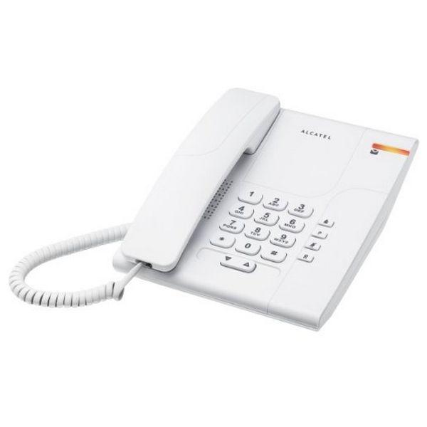Telefon Stacjonarny Alcatel T180 Versatis Biały