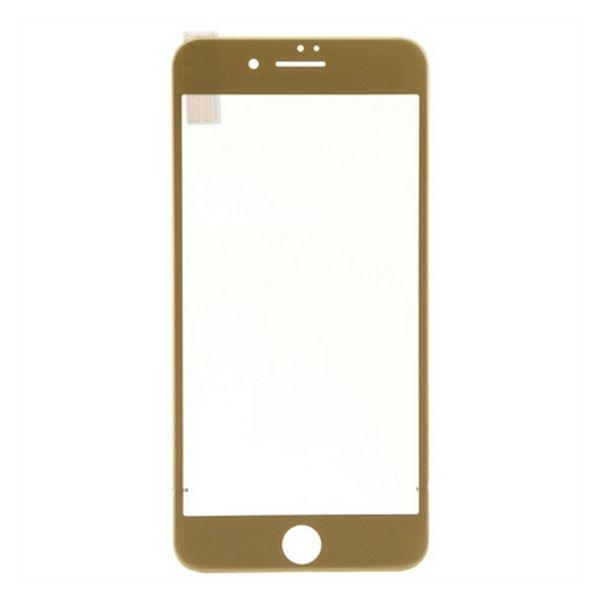 Ochraniacz na Ekran z Hartowanego Szkła Ref. 196666 3D iPhone 7 Plus Złoty