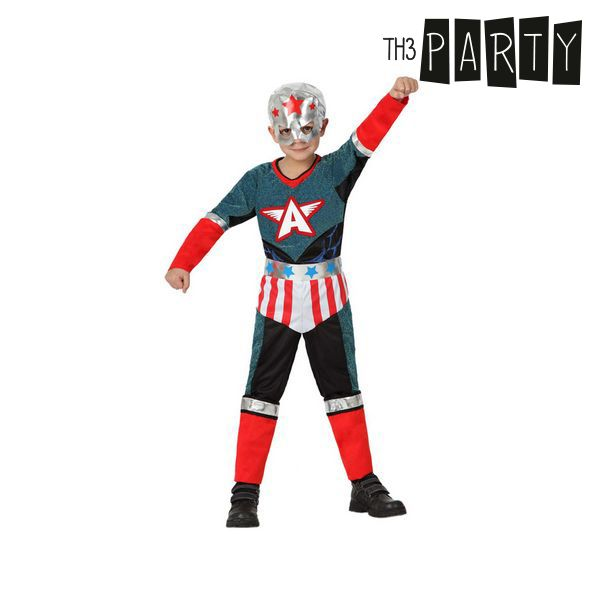 Kostium dla Dzieci Th3 Party Superbohater - 5-6 lat