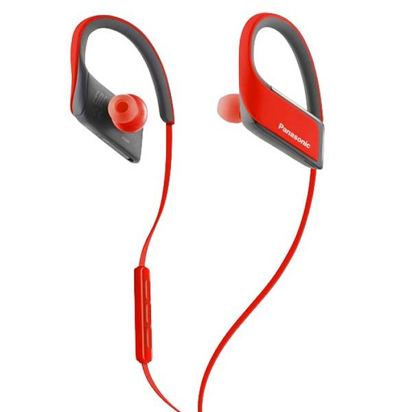 Sportovní Bluetooth Handsfree s Mikrofonem Panasonic RP-BTS30E Červený