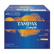 tampóny Super Plus Compak Tampax (22 uds)
