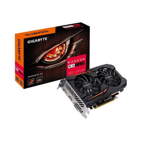 Herní grafická karta Gigabyte GV-RX560GAMING OC-4G 4 GB GDDR5 1300 MHz