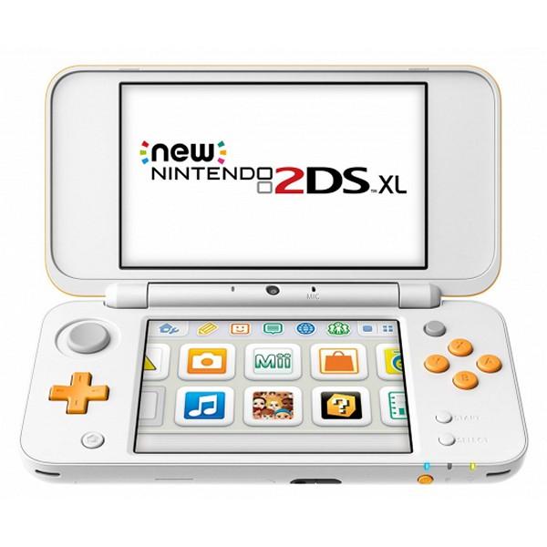 Nintendo New 2DS XL Sony 223593 4 GB microSDHC Bílý Oranžový